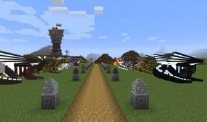 Dragons in MCPE