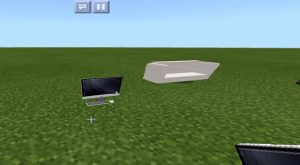 Computer and Couch in Minecraft PE